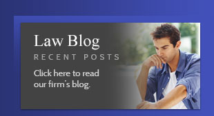Read our new Law Blog